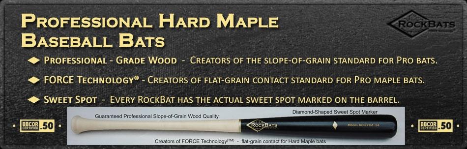 RockBat Baseball Bats for Sale, rock bat Wood Baseball Bats